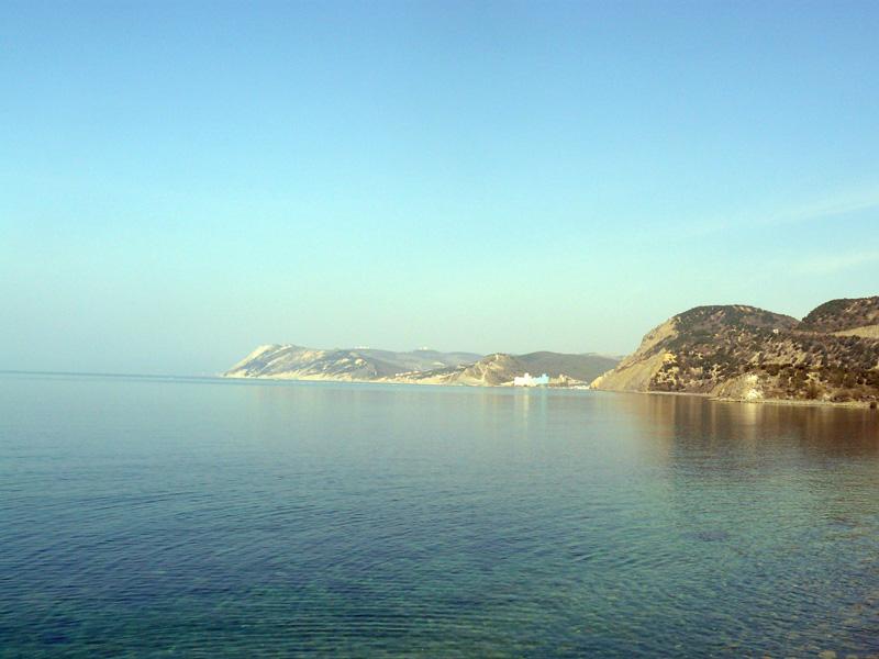 Вид на п. Сукко с моря