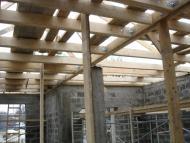 Устройство деревянного перекрытия.