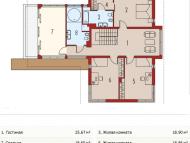 """Поэтажный план, проект дома """"ГОЛИЦЫНО"""" 2 этаж"""