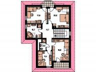 """Поэтажный план, проект дома """"МАКСВЕЛЛ"""" 2 этаж"""