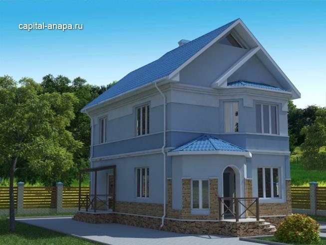 """Проект дома """"ИРТЫШ -1"""""""