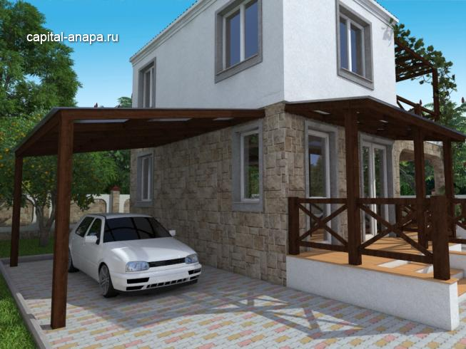 "Проект дома ""ВЕСНА - 1"""