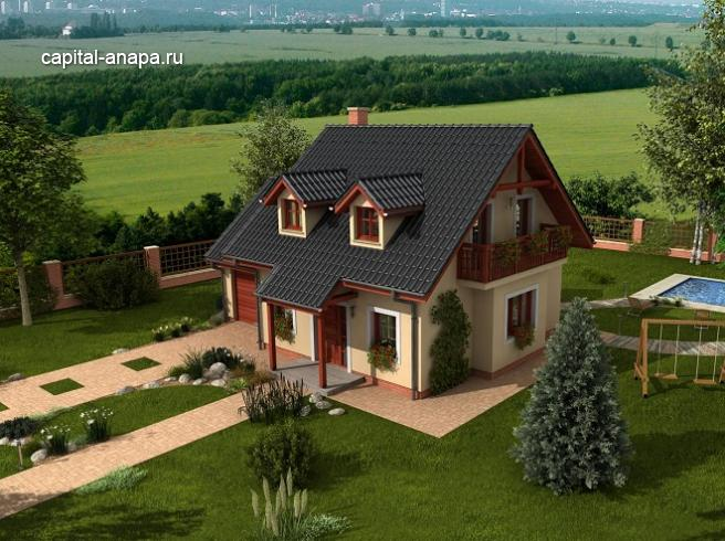 "Проект дома ""ФИЕСТА"""