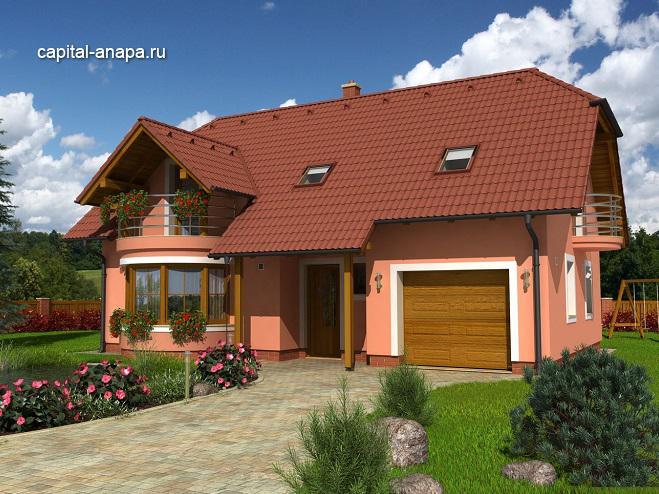 """Проект дома """"КВИНТА - 4"""""""