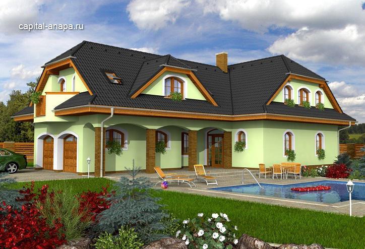 """Проект дома """"ОКТАВИЯ  2"""""""